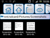 Screenshots Sony Xperia Arc S