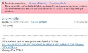 envio de mail 2