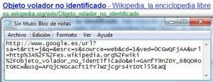 enlace de google no optimizado