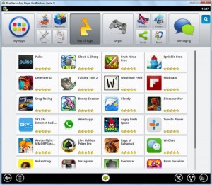 android BlueStacks en windows