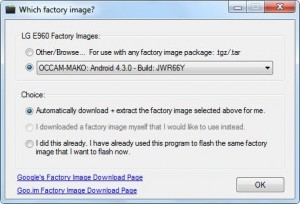 restore nexus 4 to manufacture