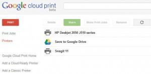 impresoras en google cloud print