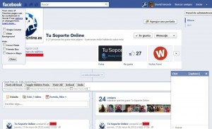 eliminar barra de chat facebook