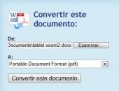 convertir documentos a pdf
