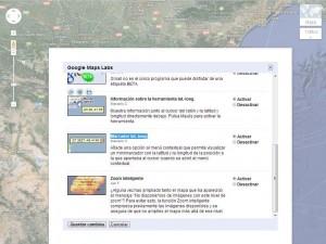 Google Maps labs saber coordenades