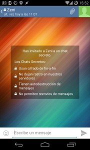 Private chat Telegram