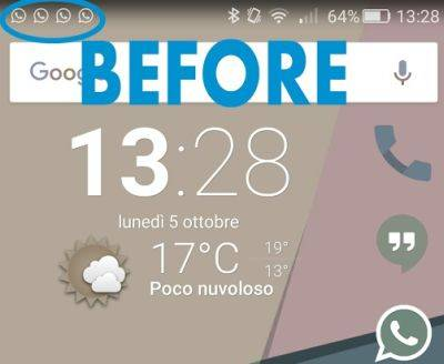 remove notifications honor 7